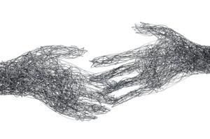 Tegnet hender