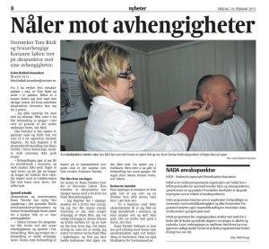 Runa Tørnby - fra avisen Rauma 19.feb. 2013