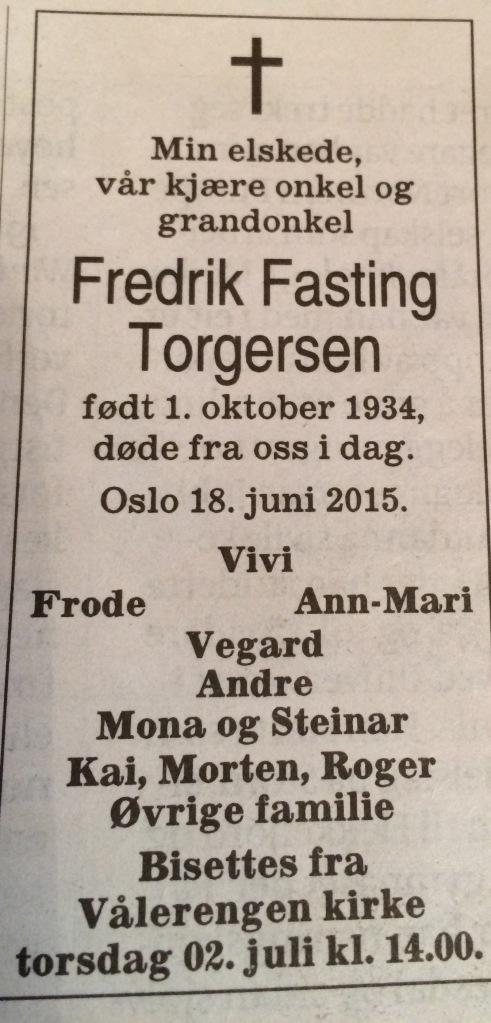 Aftenposten 25. juni 2015
