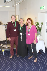 Foto: ukjent Lars Wiinblad, Rita Nilsen, Mette Wiinblad NADA Danmark og NADA Norge