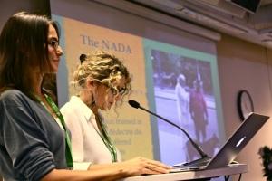Foto: Knut Vadseth Emanulle Mouy og Vanessa Top NADA Frankriket