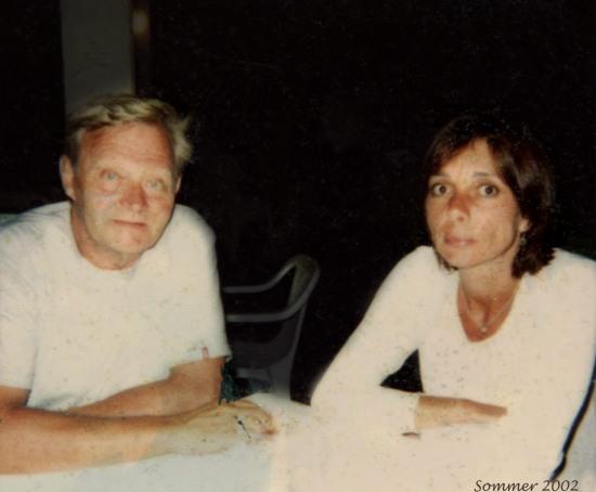 Petter og meg sommeren 2002