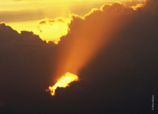Solnedgangenglimt