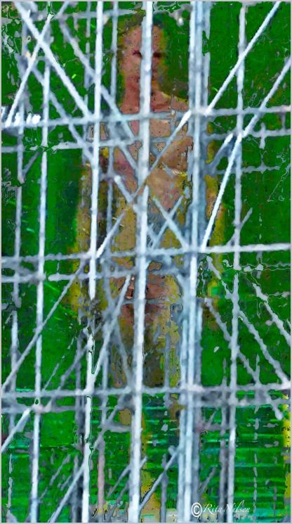 Fanget menneske