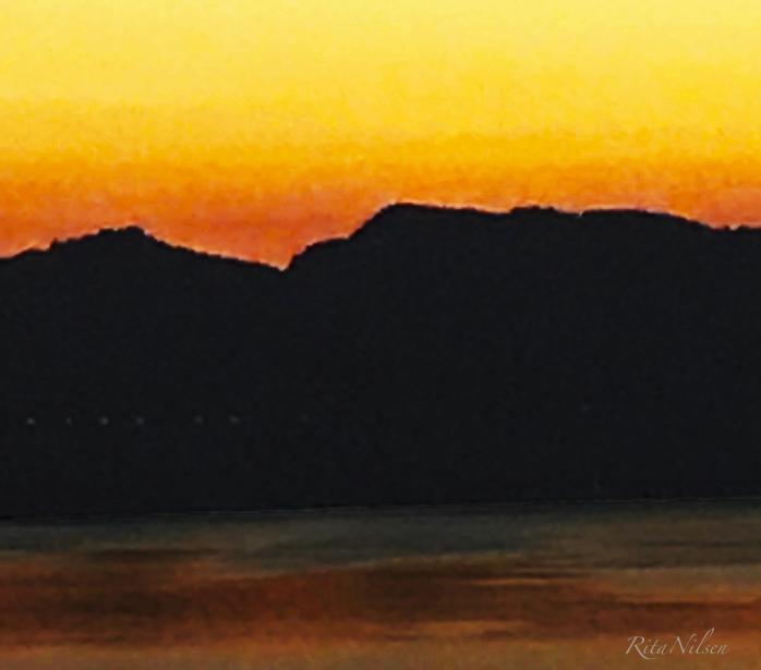 Natten siger på med håp om en ny solopgang