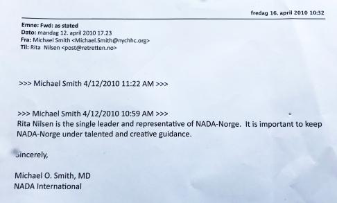 Mail fra Dr. Smith